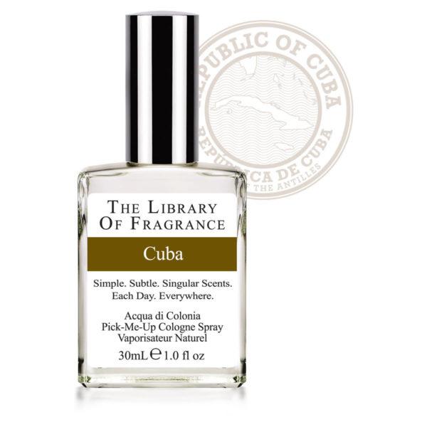 CUBA PARFUM THE LIBRARY OF FRAGRANCE