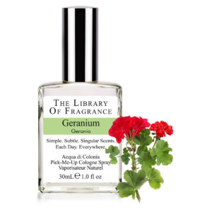 GERANIUM PARFUM THE LIBRARY OF FRAGRANCE