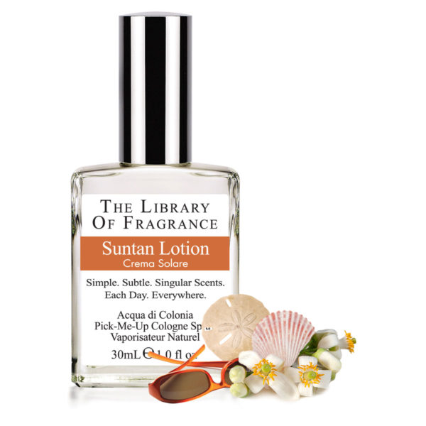 CREME SOLAIRE PARFUM THE LIBRARY OF FRAGRANCE