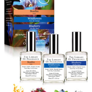 TRIO AUTOMNE PARFUM THE LIBRARY OF FRAGRANCE