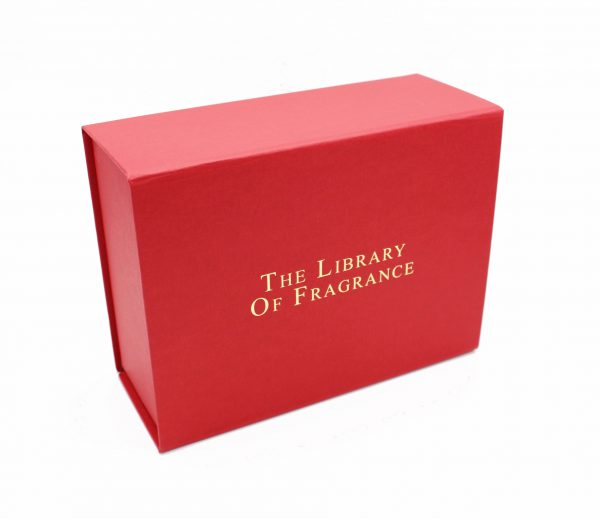 BOITE CADEU PARFUM THE LIBRARY OF FRAGRANCE