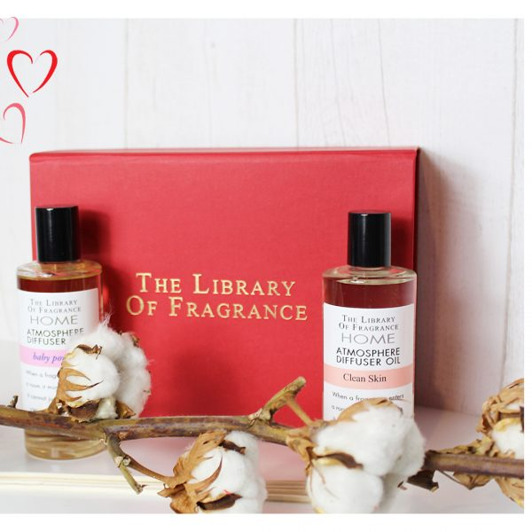 COFFRET DIFFUSEURS SOIREE COCOONING THE LIBRARY OF FRAGRANCE